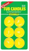 Citronella Tub Candles